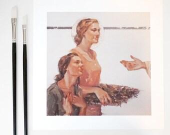 The Bridegroom, Print: Open Edition