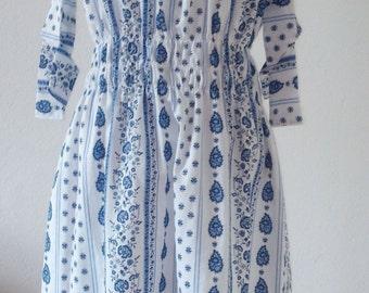 """Off-Shoulder-Dress """"Provence"""""""