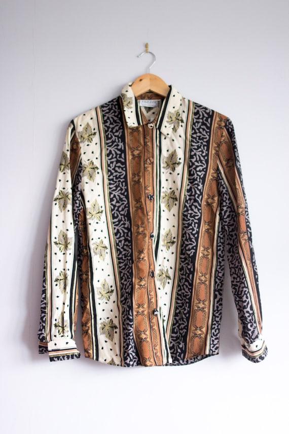 Button Down Shirt 1980s Clothing Hip Hop Clothing 80s