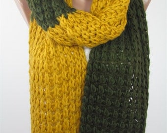 Knit Scarf Chunky Scarf Cozy Winter Scarf Knitting Muffler Scarf Ascot Neck Warmer Women Fashion Accessories Christmas Gift For Her For Mom