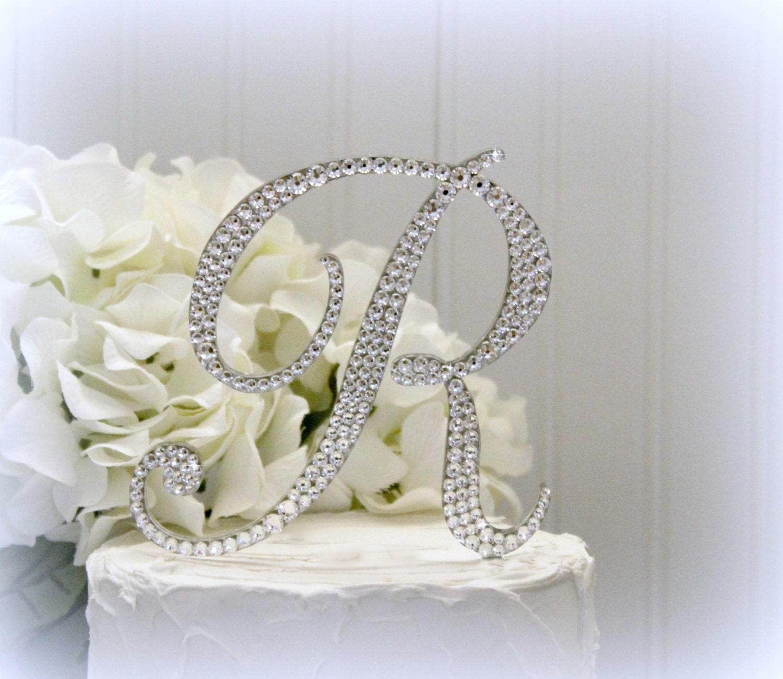 Luxury Monogram Cake Toppers For Wedding Frieze - The Wedding Ideas ...