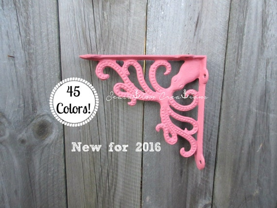 Cast Iron Octopus Shelf Bracket