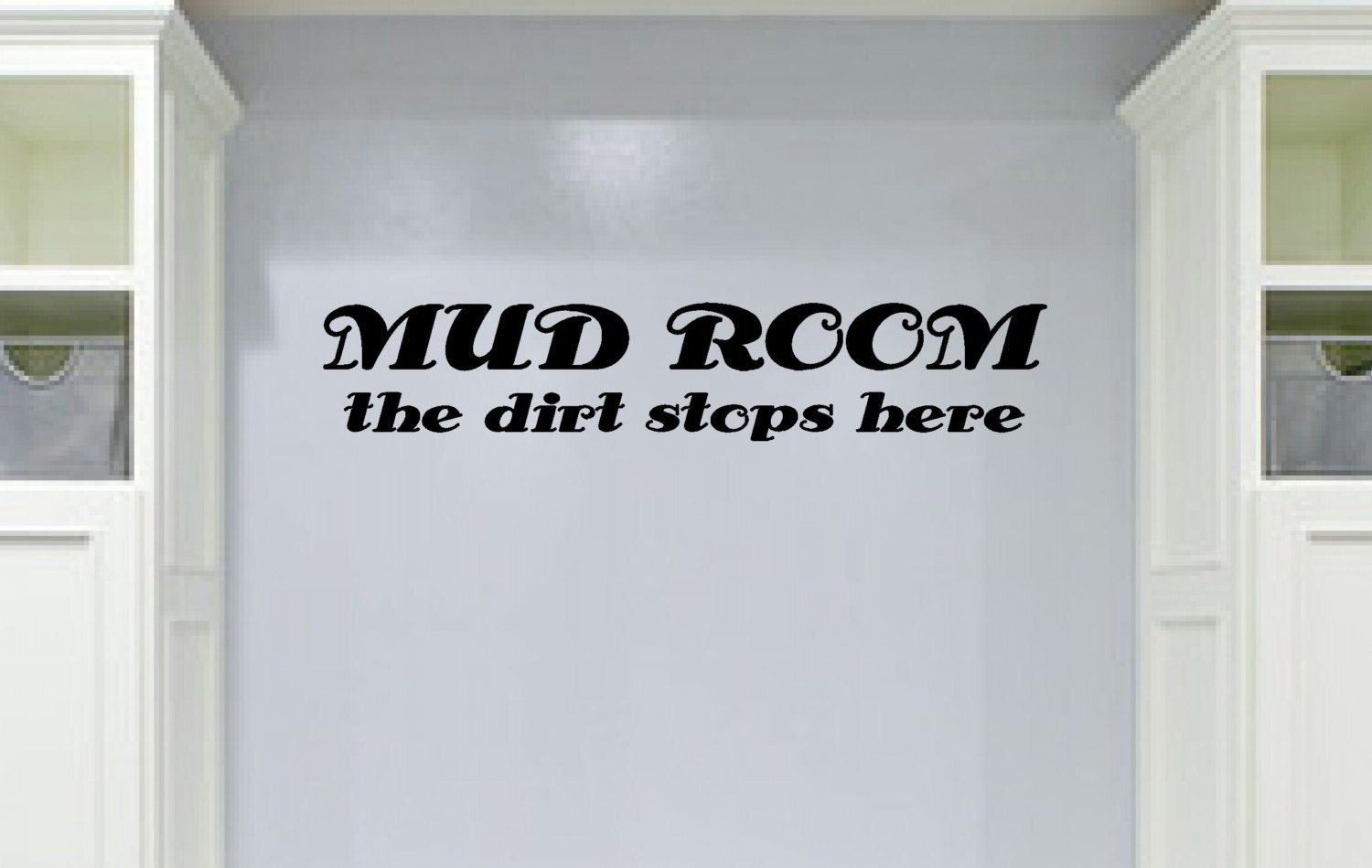 Mud Room Wall Decor : Laundry vinyl wall decal mud room decor by