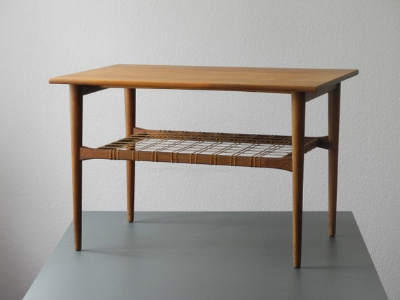 Beautiful minimalist 60s vintage side table or coffee table in for 60s coffee table