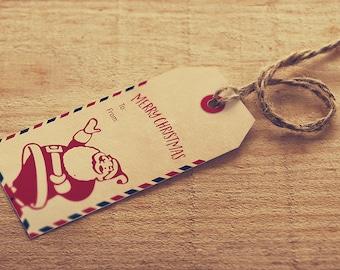60% Off, Printable Christmas Tags, Christmas Tags Printable, Santa Tags, Christmas Gifts, Santa Gift Tags, Gift Tags, Christmas Tags, santa