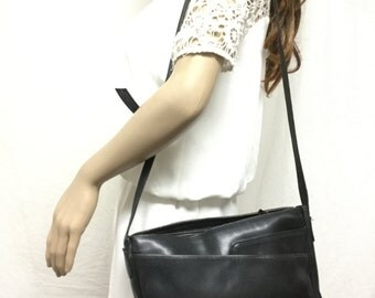 Tano, Black Leather Purse,bag, Shoulder Bag,purses ,bags