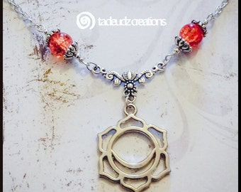 Sacral Chakra Vector Pendant
