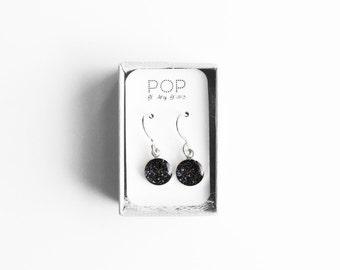 Dangle Earrings, Twilight Glitter, Sterling Silver, Handmade Jewelry, accessories, Gifts