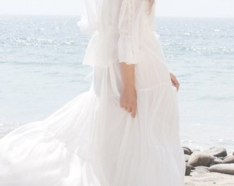 Delilah Bohemian Wedding Gown