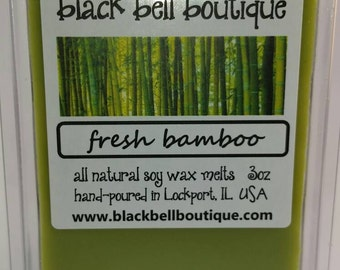 FRESH BAMBOO 3oz soy wax melts