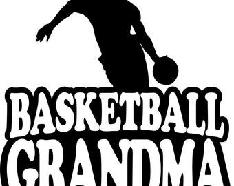 Basketball Grandma Shirt/ Basketball Shirt/ Boy Player Basketball Grandma T Shirt/ Basketball Gift