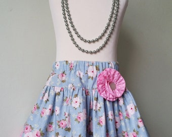 Girls skirt, floral skirt, twirl, READY to post, age 2, SALE, partywear, kids clothing, uk