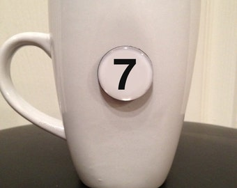 Quote Magnet - Number '7'