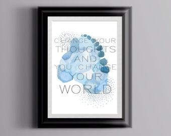 Inspirational Quote Art Print- Inspirational Quote Art -  Quote Art Print- Inspirational Quote Print - Quote Art Print