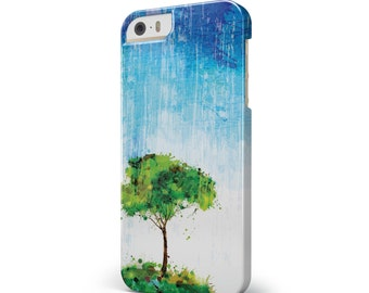 Individual Tree Splatter - iNK-Fuzed Hard Case for the Apple iPhone - Samsung Galaxy & More