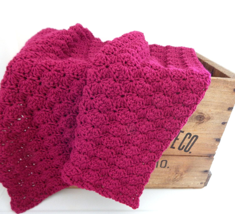 Crochet Baby Blanket Knit Baby Blanket Stroller Travel