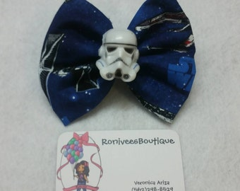 Storm Trooper Hair bow
