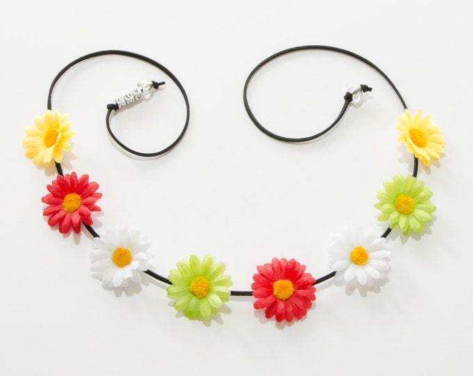 Cinco de Mayo Daisy Flower Crown