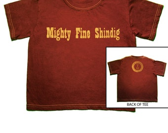 SALE!!! 16.00-->14.00, Mighty Fine Shindig, Toddler Shirt, Firefly, Serenity, Baby Shirt