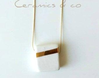"""Pendant """"Gloss"""" porcelain, ceramic"""