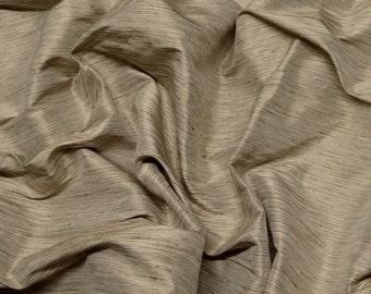 Brown beige wide tie