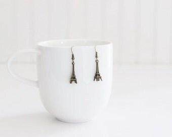 Eiffel Tower Paris Earrings