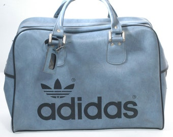 Vintage 1970's Adidas Peter Black Luggage Bag - www.brickvintage.com
