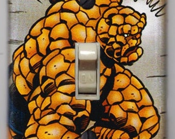 Fantastic Four Thing Light Switch Cover Plate - Marvel Comics FREE SHIPPING
