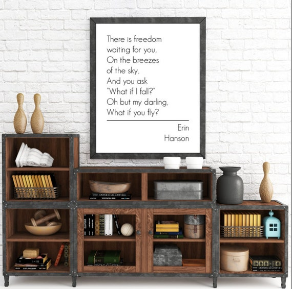 What if I fall oh my darling what if you fly, Wall Art Prints, Inspirational Quote, Instant Download, The Copper Anchor- ADOPTION FUNDRAISER