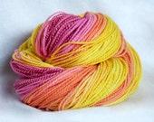Hand Spun Yarn, Summertime Rolls