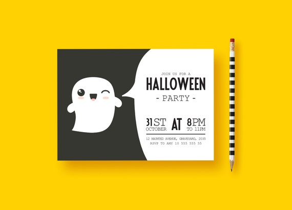 Halloween party invitations halloween birthday invitations il570xn filmwisefo