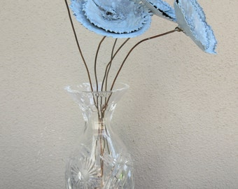 Bouquet of Flowers --  Bouquet, Metal Flowers, Metal Sculpture, Shabby Chic