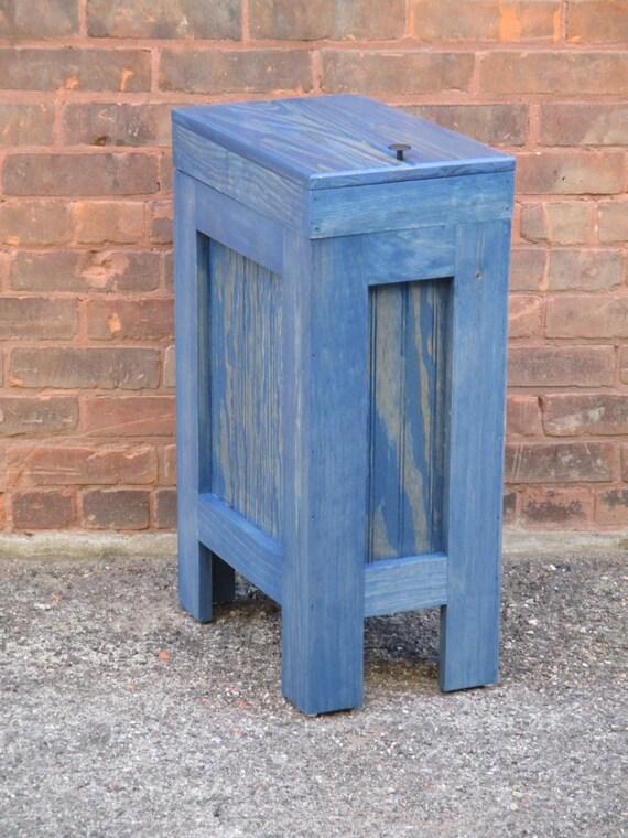 wood trash bin kitchen garbage can wood trash candog food. Black Bedroom Furniture Sets. Home Design Ideas