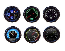 Mens Speedometer  Magnets. Fathers Day Gift, Gift For Dad, Gift for Boyfriend,Refrigerator Magnet,  School locker magnets, Man Cave Magnets