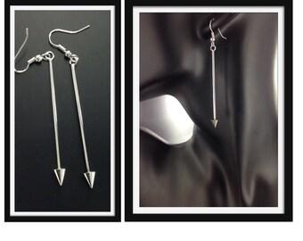 Long Spear Earrings