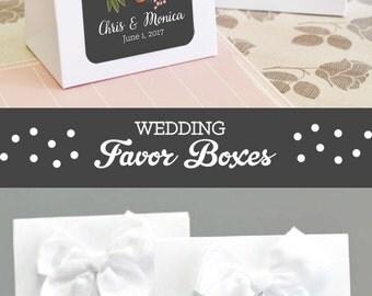 Unique Bridal Shower Favor Box DIY Wedding Favor Boxes Homemade Wedding Favors Wedding Shower Favor Boxes Ideas 2| (EB2126MP) 24 pcs