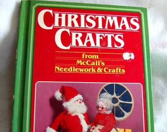 Craft Book 1984 Christmas Crafts From McCall's Needlework & Crafts Art Crafts Vintage Christmas Craft Patterns How To DIY Gift Idea