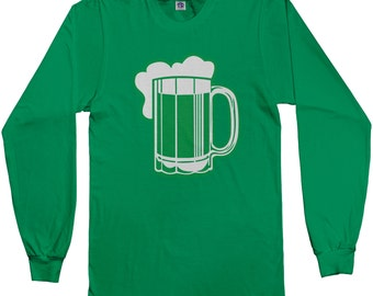 Green Beer for St Patricks Day Long Sleeve T-shirt