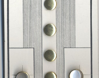 Vintage Tuxedo Shirt  Buttons and cuff Links -Unused