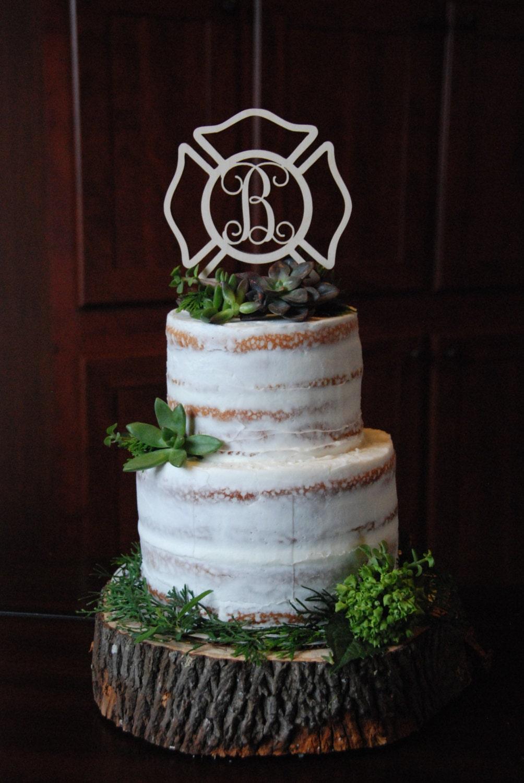 Maltese Cross Wedding Cake Topper