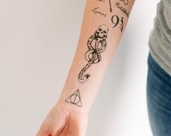 8 Harry Potter Temporary Tattoos - SmashTat