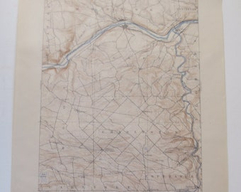 Topography Map Etsy - Us geological survey maps historical