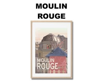 Moulin Rouge Movie Print - Poster Baz Luhrmann A3