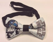 star wars bow tie men  r2d2 pretied band clip on bowties character prom birthday fathers day