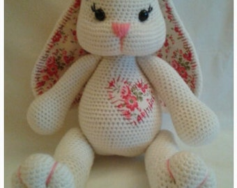PATTERN - Baby Bunny Blossom - Crochet Amigurumi Pattern