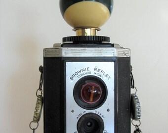 Camera Robot Brownie Reflex Steampunk Industrial