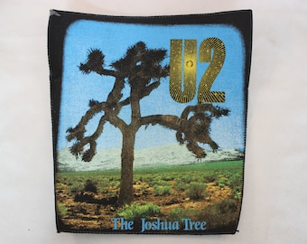 U2 The Joshua Tree Back Patch