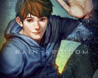 Jack Frost (Pre-Jack) from Rise of the Guardians 12x18 Art Print
