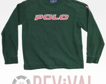Vintage Polo Sport T Shirt ~ Size S