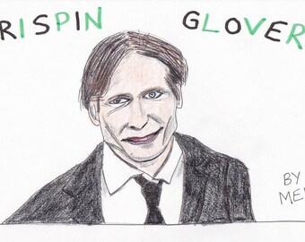 Crispin Glover Signed Digital Print